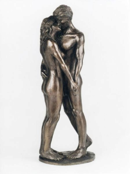 Photo of The Kiss Romantic Couple Figurine (Frith)