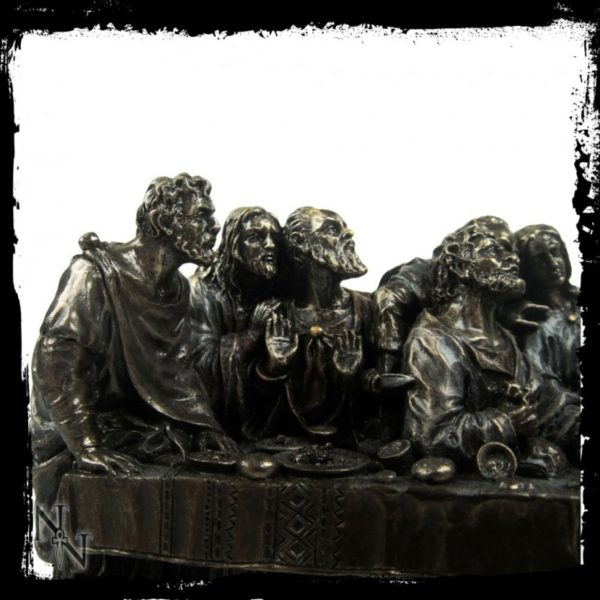 Photo of The Last Supper Bronze Figurine 24 cm
