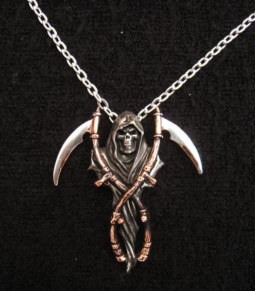 Photo of The Reapers Arms Necklace