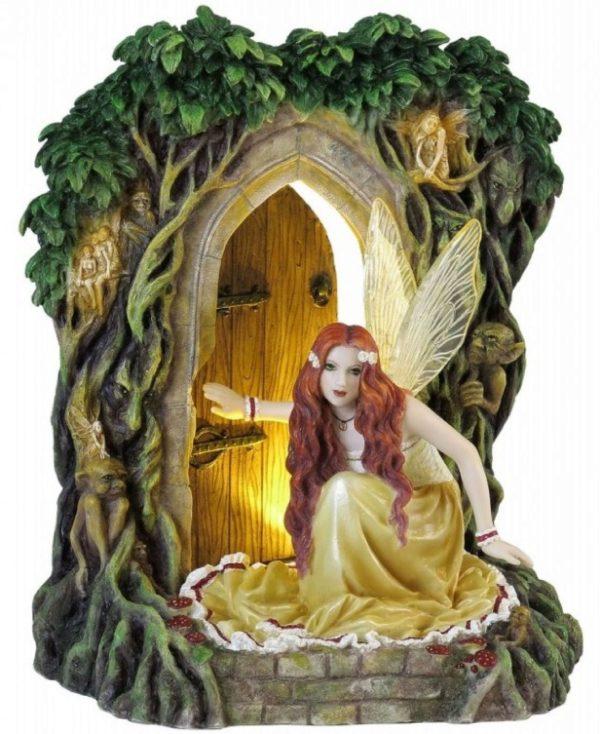 Photo of Threshold Fairy Figurine (Selina Fenech) 23cm Light Feature