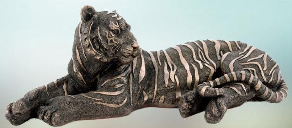 Photo of Tiger Bronze Figurine Large