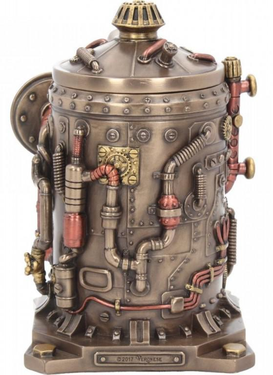 Photo of Time Displacement Capsule Clock and Pen Pot Figurine