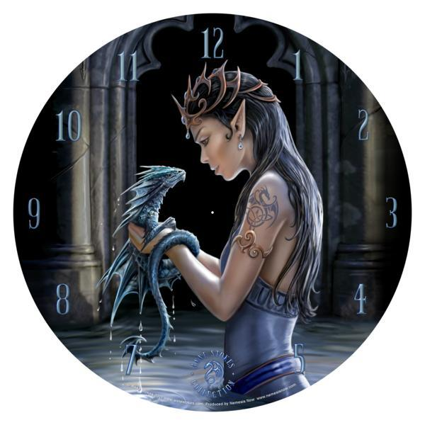 Photo of Water Dragon Clock 34 cm (Anne Stokes)