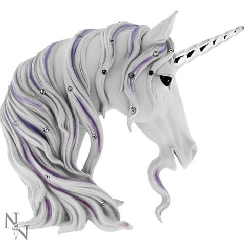 Photo of White Unicorn Jewelled Magnificence Ornament