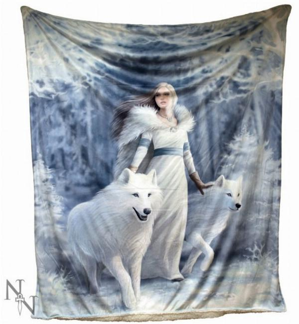 Photo of Winter Guardians Throw (Anne Stokes) 160cm Large