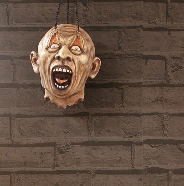 Photo of Zombie Head Hanging Decoration 18 cm Eternal Torture