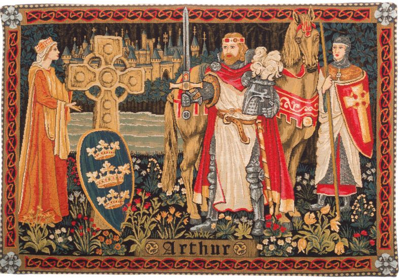 King Arthur Wall Tapestry | The Tapestry Shop